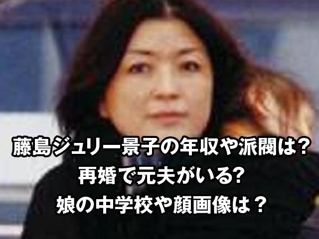 ジュリー 景子 藤島