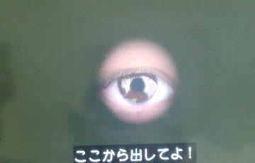 テセウスの船がホラーで怖い!ドア穴の目の犯人は誰?